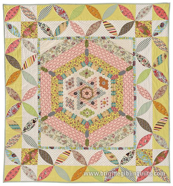 Best 25 Hexagon quilt pattern ideas on Pinterest