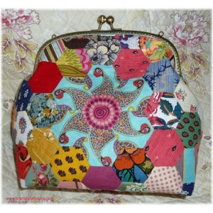 Large Hexagon Purse