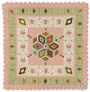 Baby's Hexagon Quilt