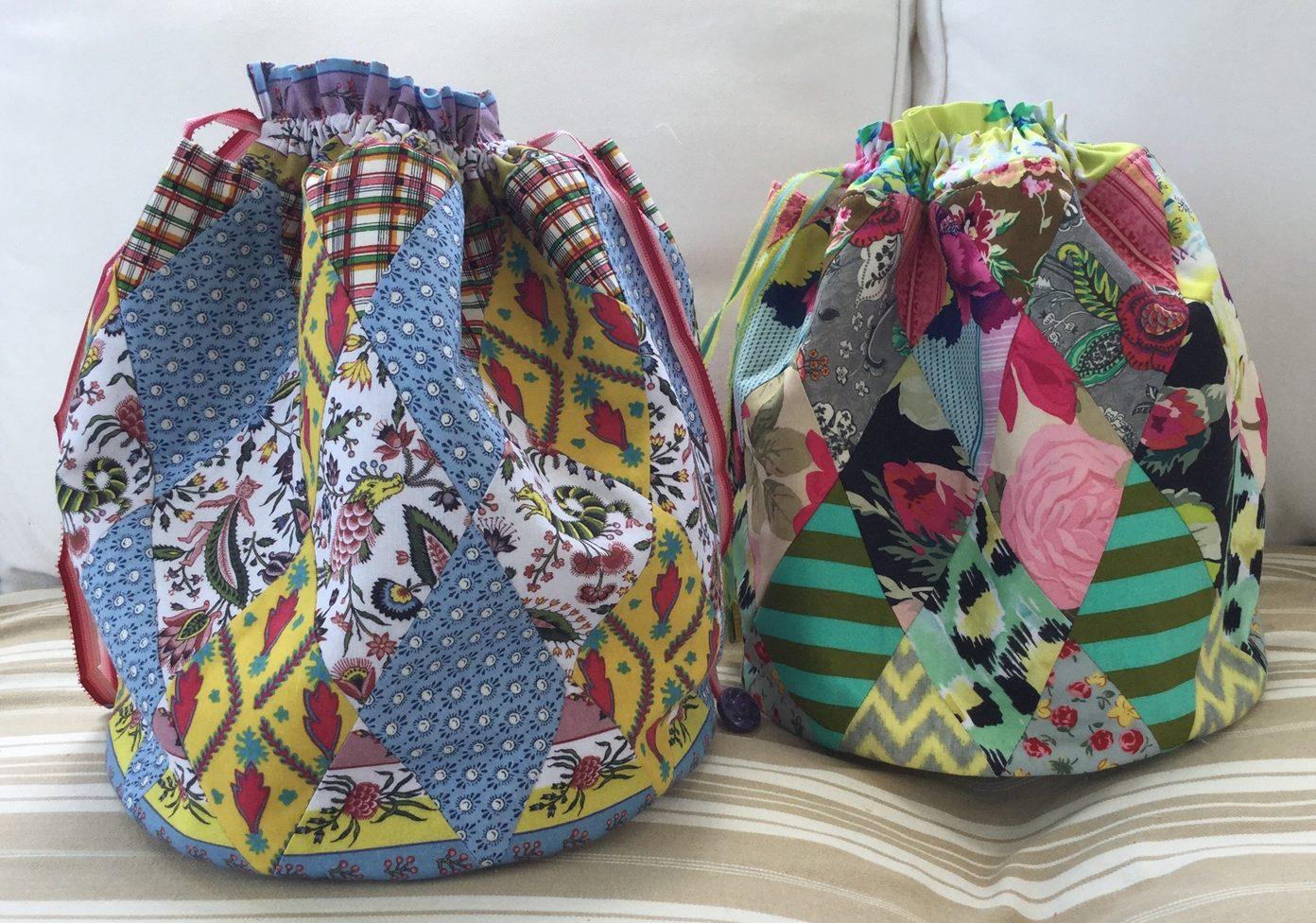 Harlequin dilly bag pattern u2013 made by brigitte giblin brigitte